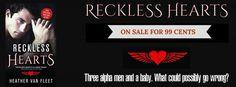 Ogitchida Kwe's Book Blog : RECKLESS HEARTS by Heather Van Fleet ♥ SALES BLITZ...