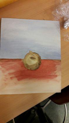 Onderzoeken aanzet schilderij.