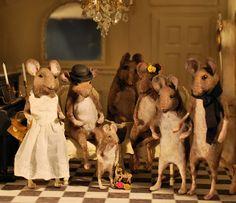 Mice family in miniature.
