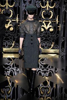 I adore the skirt.  Louis Vuitton A/W '11.