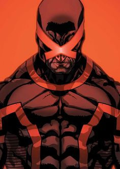 Cyclops new look since Scott Summers is viewed as the New Villain due to his Mutant Revolution...against Humans !
