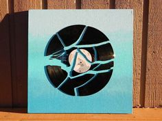 Make ombre wall art. | Community Post: 19 Ways To Reuse Vinyl Records