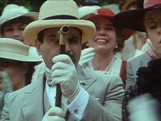 Murder in the Clouds; Poirot at Wimbledon. Agatha Christie's Poirot, Hercule Poirot, Detective, Upper Middle Class, David Suchet, Miss Marple, Crime Fiction, Film Music Books, Inspiring People