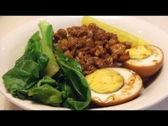 Lu Rou Fan 滷肉飯 Taiwanese traditional street food