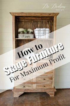 furniture muebles While staging furniture doesnt come naturally to everyone, the good news is it can be learned. One of the most common questions I hear in this business ishow do I get my furniture noticed. The answer is GREAT STAGING that stands out!
