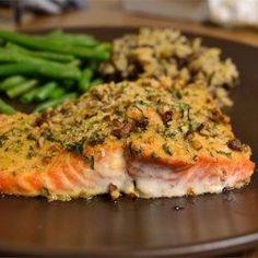Baked Dijon Salmon - Allrecipes.com