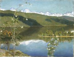 Akseli Gallen Kallela Chur, Landscape Art, Landscape Paintings, Russian Painting, Life Paint, Scandinavian Art, Water Lighting, Closer To Nature, Love Art