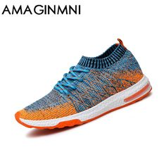 a5cd1607cc1 2018 New Breathable Mesh Summer Men Casual Shoes Slip On Male Fashion  Footwear Slipon Walking Unisex Couples Shoes Mens Colorful