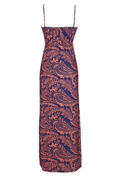Cupshe Set the World on Fire Paisley Long Dress