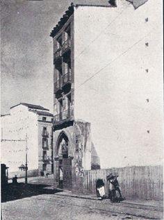 1910.Antes de la Gran Vía. San Bernardo esquina a Flor Baja. | Flickr: Intercambio de fotos
