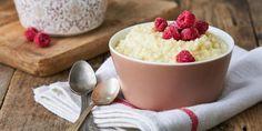 Köleskása gyümölccsel   CsupaSport Pudding, Desserts, Food, Flan, Postres, Puddings, Deserts, Hoods, Meals