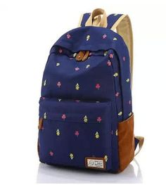 Girl's Purple Rolling Backpack School Books College Student Travel ...