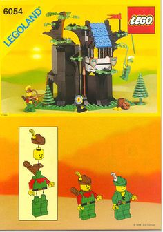LEGO 6054-1: Forestmen's Hideout | Brickset: LEGO set guide and database
