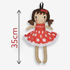 Papusa personalizata ROSU-ALB -comanda- Sewing Dolls, Kids, Young Children, Boys, Children, Boy Babies, Child, Kids Part, Kid