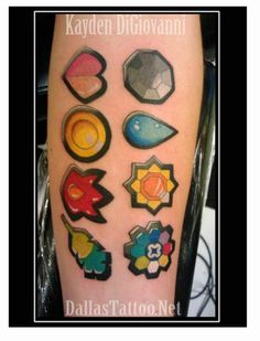 one day i will get a tattoo of one of the original pokemon badges.