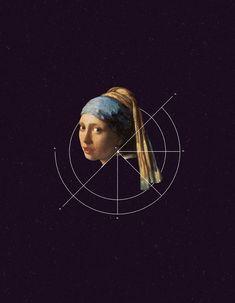 boutedepeintureetgeometrie 04 Illustrations à base de peintures et de géométrie