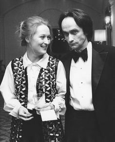Meryl Streep and John Cazale, photographed by Ron Galella