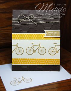 Another fun card made with the August kit.