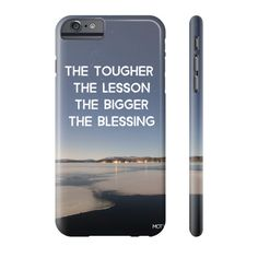 The Tougher The Lesson - Art Phone Case - Limited 50 pieces for $35! Free Shipping WorldWide