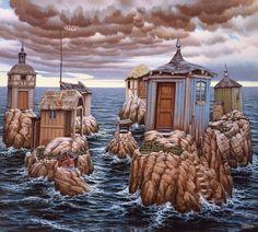 """ARCHIPELAG"" de Jacek Yerka"