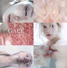 Gael Targaryen, youngest daughter of Jaehaerys I and Alysanne Targaryen