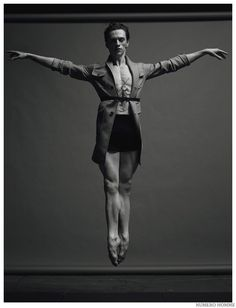 Ukrainian ballet dancer Sergei Polunin is photographed by Jacob Sutton and styled by Jean Michel Clerc for Numéro Homme magazine. Just Dance, Shall We Dance, Sergei Polunin Dancer, Serpieri, Male Ballet Dancers, Ballet Girls, Poses References, Dynamic Poses, Dance Movement