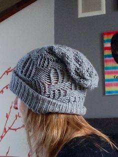 Bonnet fait au tricotin rond