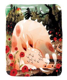 wrcillustration:    magicfran:  Sebastiaan Van Doninckhttp://bit.ly/UZFJvx
