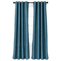 Threshold™ Uptown Stripe Light Blocking Curtain Panel : Target