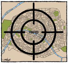 Bado,  Canada (2015-11-13) Des dessins du monde entier pour soutenir Paris