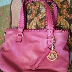 Authentic Pink Michael Kors