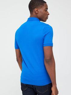 Boss Passenger Slim Fit Polo Shirt - Blue , Bright Blue, Size 2Xl, Men - Bright Blue - 2Xl Mustang T Shirts, Slim Fit Polo Shirts, Boss Man, Body Warmer, Basic Style, Cotton Shorts, Short Sleeve Tee, Under Armour, Kids Fashion