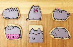 Pusheen The Cat Sugar Cookies by Kukkicookie on Etsy