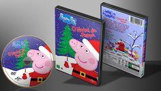 Peppa Pig - O Natal Da Peppa - Capa | VITRINE - Galeria De Capas - Designer Covers Custom | Capas & Labels Customizados