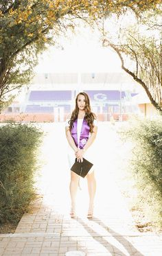 Senior pictures at Grand Canyon university