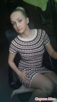 Начинаем вязать это платье, опроса не было, но было обсуждение здесь http://www.stranamam.ru/ так что, если есть желание, присоединяйтесь