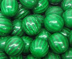 Gumballs - Watermelon - Green Candy - Colors | Bulk Candy Store