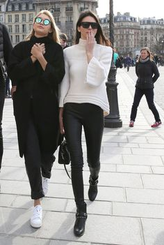 Sure, yes, they are *normal* people who are friends just like the rest of us. Except…not, because they are honestly just way cooler. | Kendall Jenner And Gigi Hadid (aka KenGi) Are The Ultimate Friendship Goals