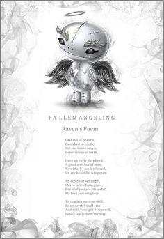 Frightlings Fall 2012 - Raven the Dark Angeling Poem