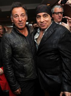 "Bruce Springsteen and Steven Van Zandt at the North American Premiere Of ""Lilyhammer"""