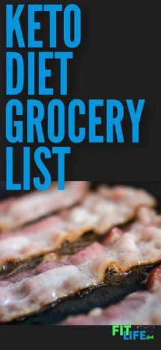 Keto Shopping List: The Only Keto Grocery List You'll Ever Need It's time to get into action on the ketogenic diet. Avoid overwhelm with this keto diet grocery list to get the keto diet foods you need as a beginner. Keto Diet Grocery List, Keto Shopping List, Ketogenic Diet Food List, Ketogenic Diet For Beginners, Keto Diet For Beginners, Ketogenic Recipes, Diet Recipes, Ketosis Diet, Paleo Food