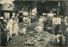 Vendedores de sombreros,