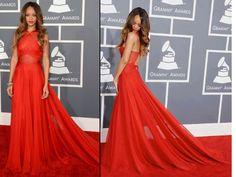 Rihanna 2013 Grammy awards dress