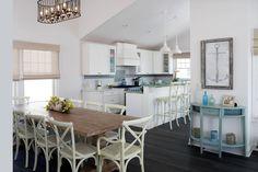 House of Turquoise: OUTinDesign Coastal Style, Coastal Living, Coastal Decor, Coastal Cottage, Coastal Curtains, Coastal Entryway, Coastal Rugs, Coastal Bedding, Modern Coastal