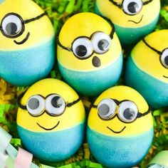 Adorable ideas for decorating Easter eggs