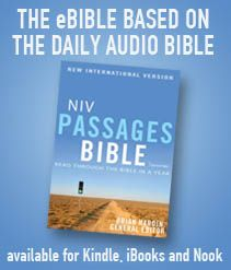 Cargo of Dreams Sponsor: The Daily Audio Bible