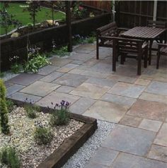 Strata Paving- Slate- Peacock- MIXED SIZE PAVING PACK