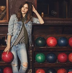 Love the new look @Shopbop featuring Current Elliott, Spring 2015