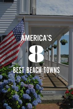 Summer means endless sunny days, tanned legs in short shorts and lots of ice cream. Here, eight of our favorite seaside towns across the country. Vacation Destinations, Vacation Trips, Dream Vacations, Vacation Spots, Beach Vacations, Vacation Ideas, Oh The Places You'll Go, Places To Travel, Best Places To Live