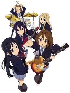 Tags: K-ON!, Hirasawa Yui, Akiyama Mio, Kotobuki Tsumugi, Tainaka Ritsu, Nakano Azusa, Official Art, Horiguchi Yukiko, Kyoto Animation